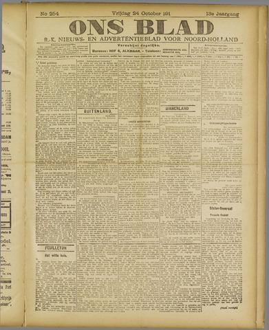 Ons Blad : katholiek nieuwsblad voor N-H 1919-10-24