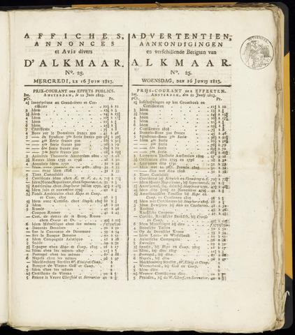 Alkmaarsche Courant 1813-06-16