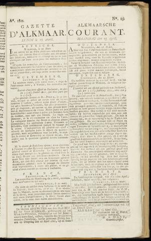 Alkmaarsche Courant 1811-04-15