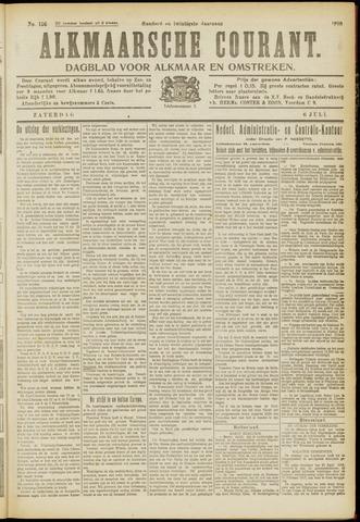 Alkmaarsche Courant 1918-07-06