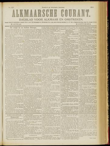 Alkmaarsche Courant 1918-09-16