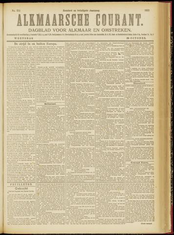 Alkmaarsche Courant 1918-10-30