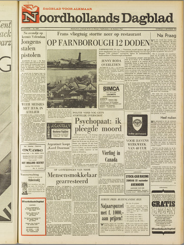 Noordhollands Dagblad : dagblad voor Alkmaar en omgeving 1968-09-21