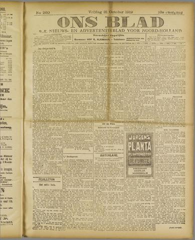 Ons Blad : katholiek nieuwsblad voor N-H 1919-10-31