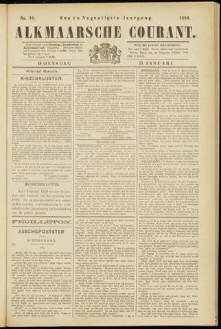 Alkmaarsche Courant 1889-01-23