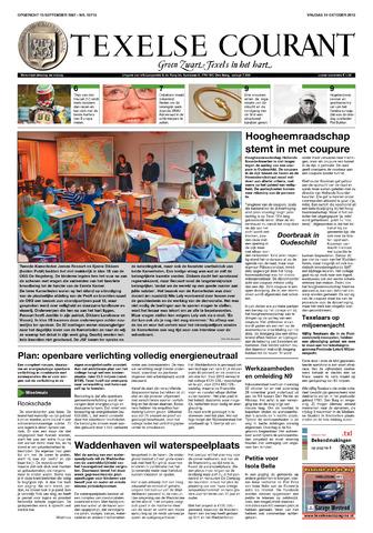 Texelsche Courant 2012-10-19