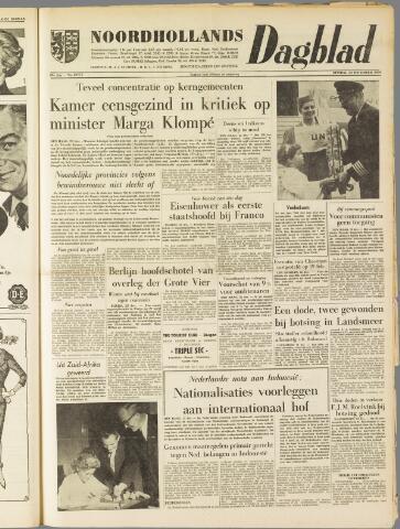 Noordhollands Dagblad : dagblad voor Alkmaar en omgeving 1959-12-22