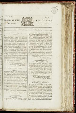 Alkmaarsche Courant 1819-12-13