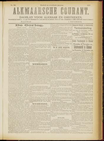 Alkmaarsche Courant 1915-11-01