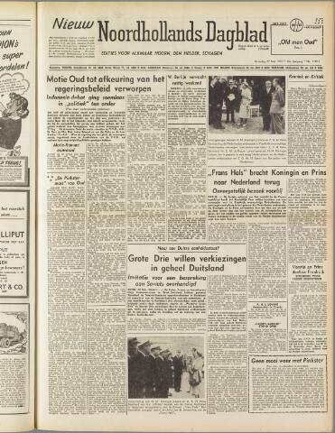 Nieuw Noordhollandsch Dagblad : voor Alkmaar en omgeving 1950-05-27
