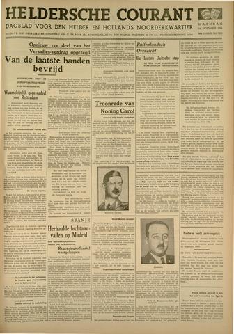 Heldersche Courant 1936-11-16