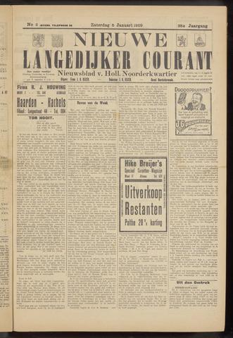 Nieuwe Langedijker Courant 1929-01-05