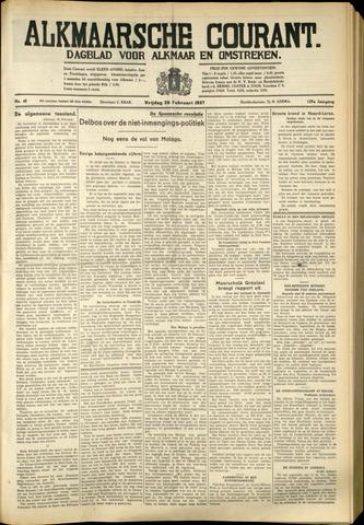 Alkmaarsche Courant 1937-02-26