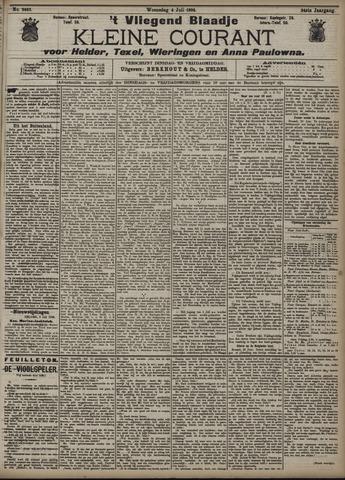 Vliegend blaadje : nieuws- en advertentiebode voor Den Helder 1906-07-04