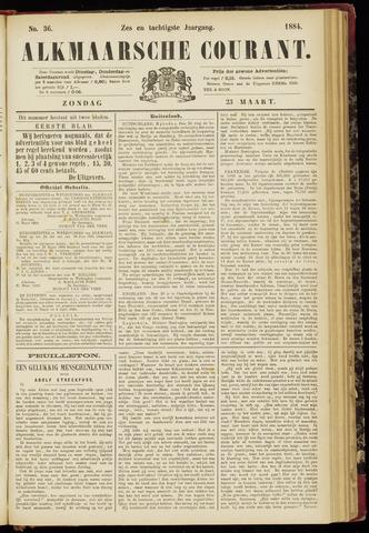 Alkmaarsche Courant 1884-03-23