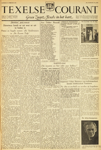 Texelsche Courant 1950-02-25