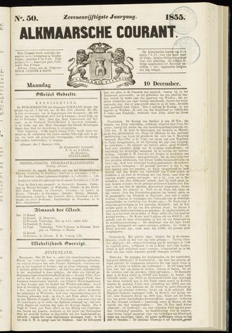 Alkmaarsche Courant 1855-12-10