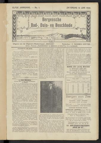 Bergensche bad-, duin- en boschbode 1920-06-12
