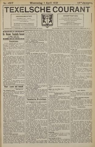 Texelsche Courant 1931-04-01