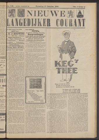 Nieuwe Langedijker Courant 1925-10-17