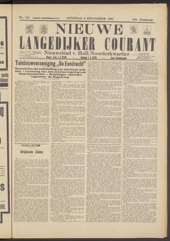 Nieuwe Langedijker Courant 1931-12-08