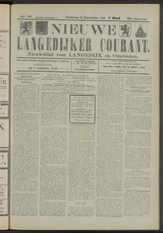 Nieuwe Langedijker Courant 1921-12-03