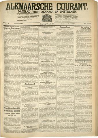 Alkmaarsche Courant 1933-07-22