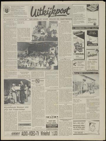 Uitkijkpost : nieuwsblad voor Heiloo e.o. 1989-08-16