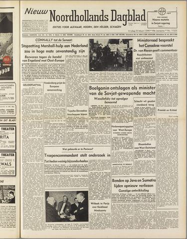 Nieuw Noordhollandsch Dagblad : voor Alkmaar en omgeving 1949-03-25