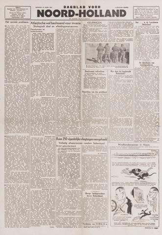 Dagblad Noord-Holland, Schager editie 1944-04-25