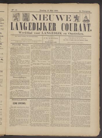 Nieuwe Langedijker Courant 1895-05-12