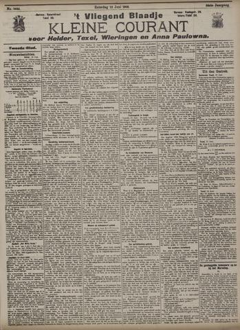 Vliegend blaadje : nieuws- en advertentiebode voor Den Helder 1908-06-13