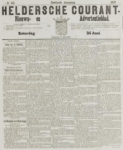 Heldersche Courant 1876-06-24