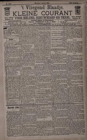 Vliegend blaadje : nieuws- en advertentiebode voor Den Helder 1894-01-01