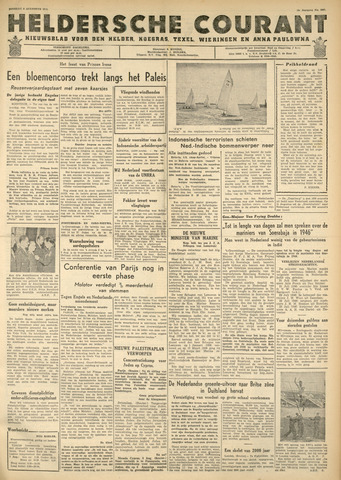 Heldersche Courant 1946-08-06