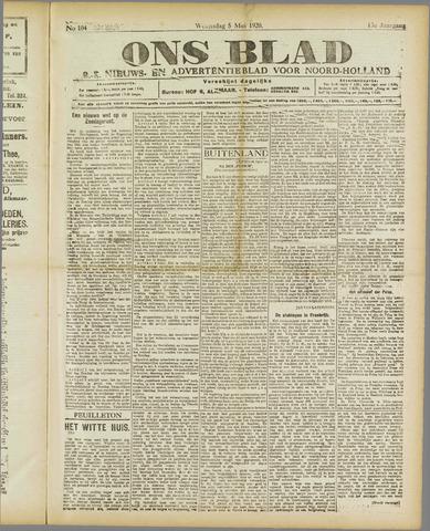 Ons Blad : katholiek nieuwsblad voor N-H 1920-05-05