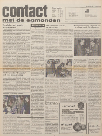 Contact met de Egmonden 1980-01-30