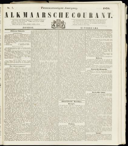 Alkmaarsche Courant 1870-02-13