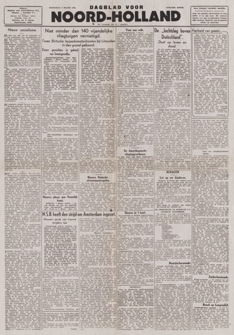 Dagblad Noord-Holland, Schager editie 1944-03-08