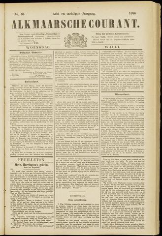 Alkmaarsche Courant 1886-07-14