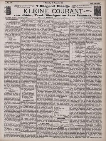 Vliegend blaadje : nieuws- en advertentiebode voor Den Helder 1912-08-28