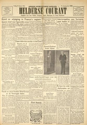 Heldersche Courant 1950-01-20