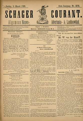 Schager Courant 1888-03-11