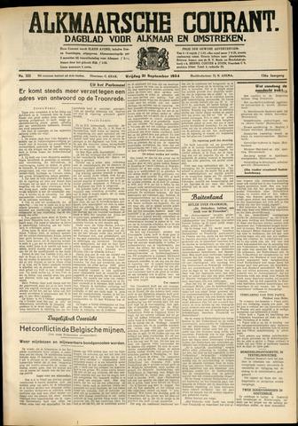 Alkmaarsche Courant 1934-09-21