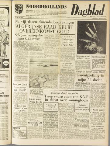 Noordhollands Dagblad : dagblad voor Alkmaar en omgeving 1962-02-28