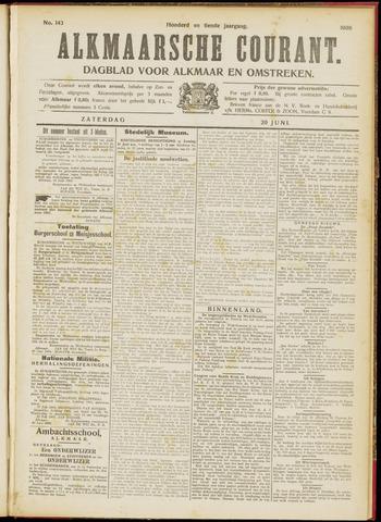 Alkmaarsche Courant 1908-06-20