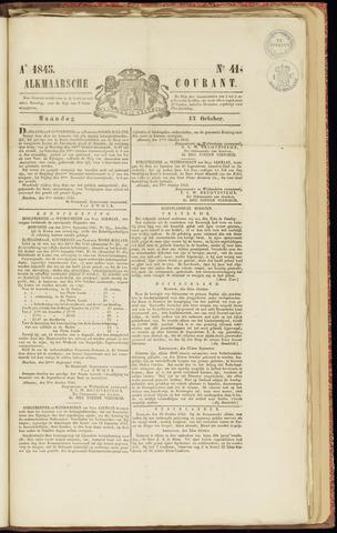 Alkmaarsche Courant 1845-10-13
