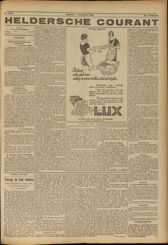 Heldersche Courant 1923-08-09