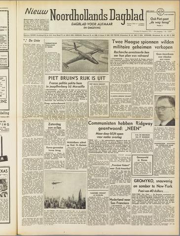 Nieuw Noordhollandsch Dagblad : voor Alkmaar en omgeving 1951-08-28