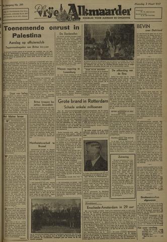 De Vrije Alkmaarder 1947-03-03